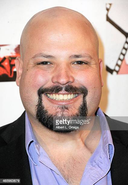 Producer Mike Quiroga attends the ShockFest Film Festival Awards held at Raleigh Studios on January 11 2014 in Los Angeles California
