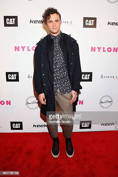 Producer Mikky Ekko attends NYLON Magazine's Spring Fashion Issue Celebration hosted by Rita Ora at Blind Dragon on February 27, 2015 in West...