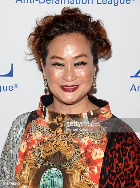 Producer Miky Lee attends the ADL Entertainment Industry Dinner at The Beverly Hilton Hotel on April 14 2016 in Beverly Hills California
