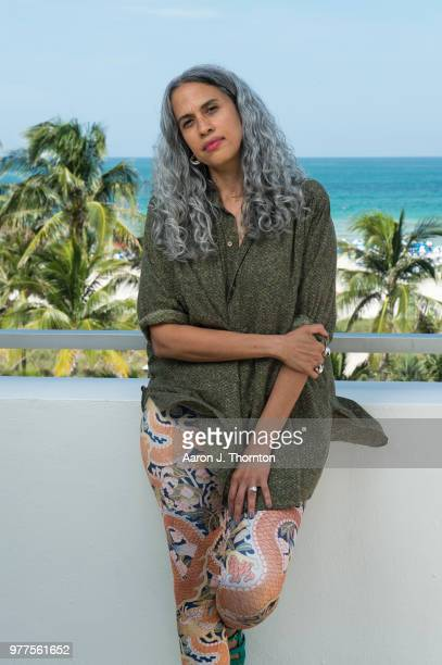 Producer Mimi Valdes poses for a portrait during the 22nd Annual American Black Film Festival at the Loews Miami Beach Hotel on June 16 2018 in Miami...