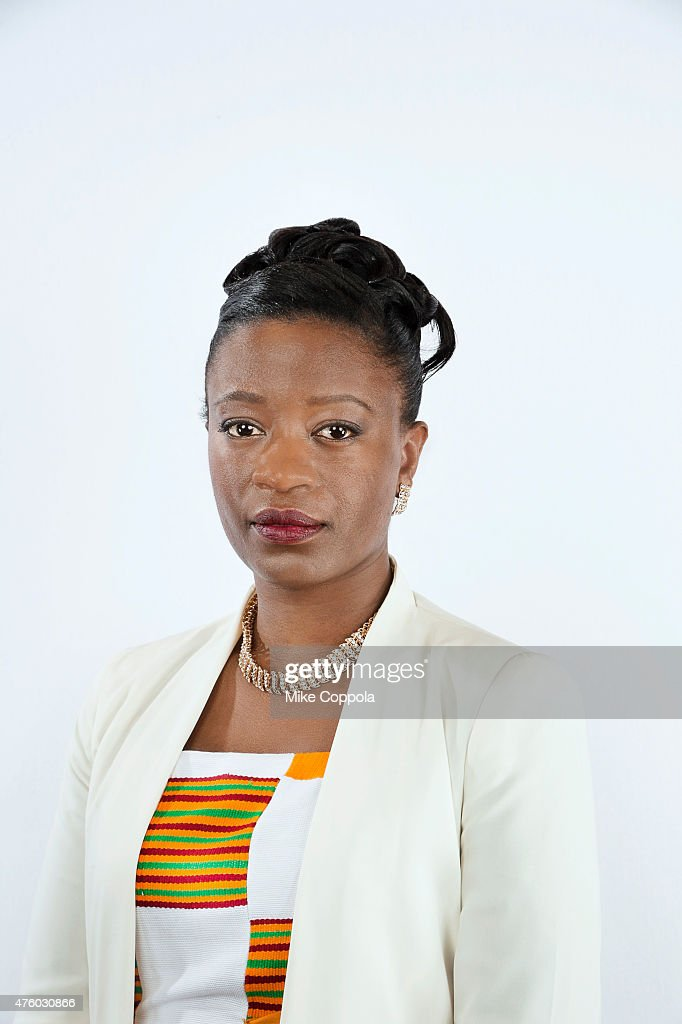 Producer Miriam Quansah poses for a portrait at The 74th Annual Peabody Awards Ceremony at Cipriani Wall Street on May 31, 2015 in New York City.