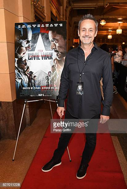 "Producer Mitch Bell attends ""Captain America: Civil War"" Atlanta cast & filmmakers screening at The Fox Theatre on May 1, 2016 in Atlanta, Georgia."