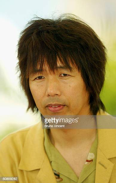 Producer Mitsuhisa Ishikawa attends photocall for 'Innocence' at Le Palais des Festival at the 57th Cannes Film Festival on May 20 2004 in Cannes...