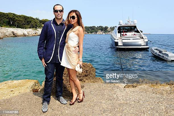 Producer Mohammed Al Turki and guest attend the Sea Shepherd lunch sponsored by producers Mohammed Al Turki and Hamza Talhouni honoring Michelle...