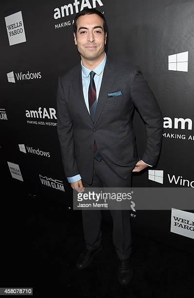 Producer Mohammed Al Turki attends amfAR LA Inspiration Gala honoring Tom Ford at Milk Studios on October 29 2014 in Hollywood California