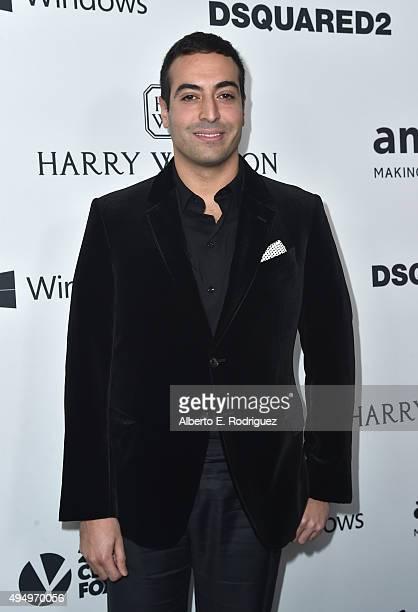 Producer Mohammed Al Turki attends amfAR's Inspiration Gala Los Angeles at Milk Studios on October 29 2015 in Hollywood California