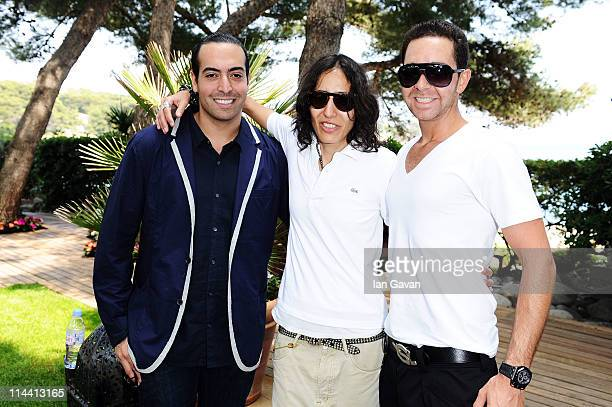 Producer Mohammed Al Turki, Director Voula Wolf Duval and producer Hamza Talhouni attend the Sea Shepherd lunch sponsored by producers Mohammed Al...