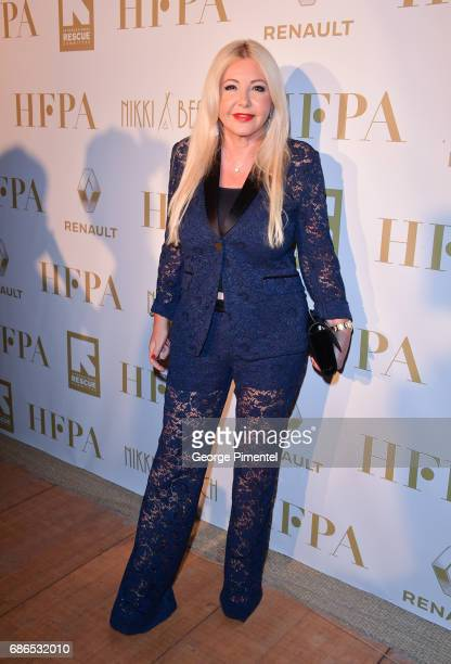 Producer Monika Bacardi attends the Hollywood Foreign Press Association's 2017 Cannes Film Festival Event in honour of the International Rescue...