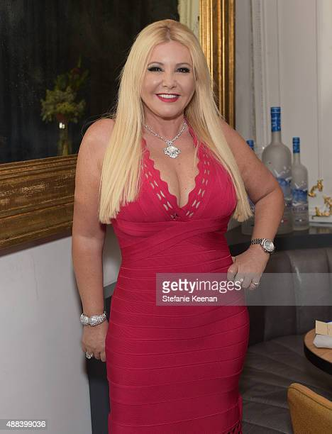 Producer Monika Bacardi attends the Septembers of Shiraz TIFF Party Hosted By GREY GOOSE Vodka at Byblos on September 15 2015 in Toronto Canada