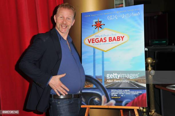 Producer Morgan Spurlock attends the Premiere of Runaway Films' 'Vegas Baby' at Ahrya Fine Arts Theater on June 19 2017 in Beverly Hills California