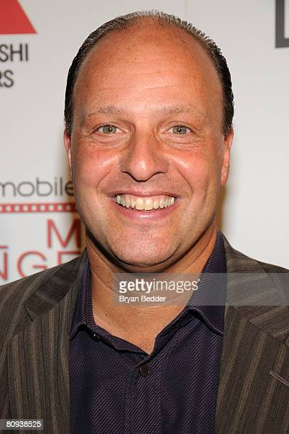 Producer Morris Levy arrives at the premiere of Harold at the 62nd and Broadway Cinema on April 30 2008 in New York City