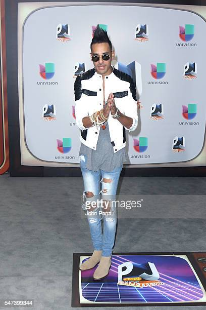 Producer Motiff attends the Univision's 13th Edition Of Premios Juventud Youth Awards at Bank United Center on July 14 2016 in Miami Florida