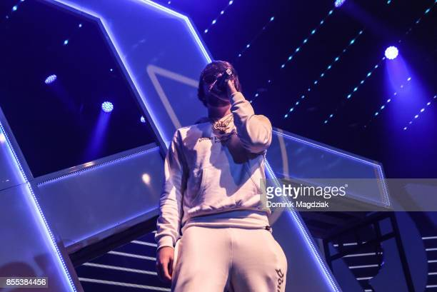 Producer Murda Beatz performs on stage during Spotify's RapCaviar Live in Toronto at Rebel Nightclub on September 28 2017 in Toronto Canada