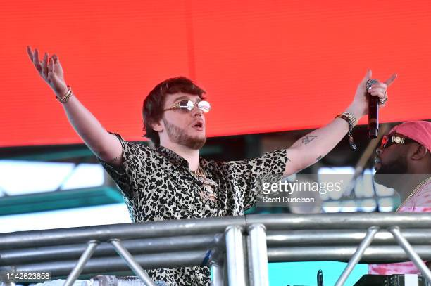 Producer Murda Beatz performs onstage during Weekend 1 Day 2 of the 2019 Coachella Valley Music and Arts Festival on April 13 2019 in Indio California