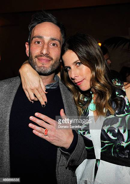 Producer Murray Miller and Irene Neuwirth attend a cocktail party to celebrate the debut fragrance by Irene Neuwirth hosted by Barneys New York on...