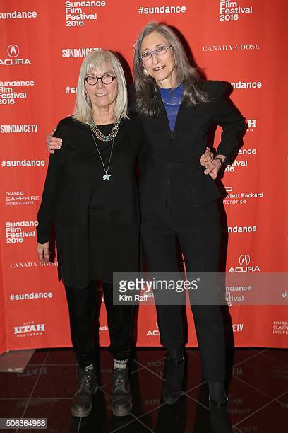 Producer Nancy Dickenson and producer Lorraine Gallard attend the Sophie And The Rising Sun Premiere during the 2016 Sundance Film Festival at Rose...