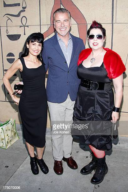 Producer Nancye Ferguson actor Ian Buchanan and director Mary C Reese attend the screening of Robert Williams Mr Bitchin at American Cinematheque's...