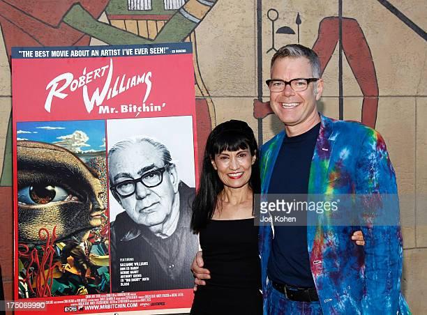 Producer Nancye Ferguson and humorist Charles Phoenix attend the screening of Robert Williams Mr Bitchin at American Cinematheque's Egyptian Theatre...