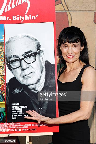 Producer Nancye Ferguson attends the screening of Robert Williams Mr Bitchin at American Cinematheque's Egyptian Theatre on July 30 2013 in Hollywood...