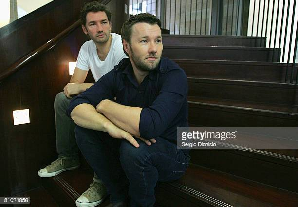 Producer Nash Edgerton and actor Joel Edgerton pose during the program launch for the Sydney Film Festival at Customs House on May 8, 2008 in Sydney,...