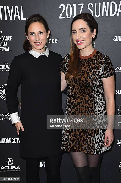 Producer Natalia Anderson and director Zoe ListerJones attend the Band Aid Premiere at Eccles Center Theatre on January 24 2017 in Park City Utah