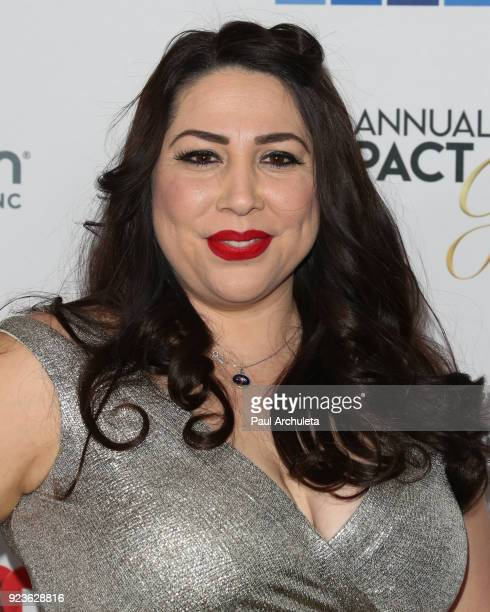 Producer Natalie Sanchez attends the National Hispanic Media Coalition's 21st annual Impact Awards at the Beverly Wilshire Four Seasons Hotel on...