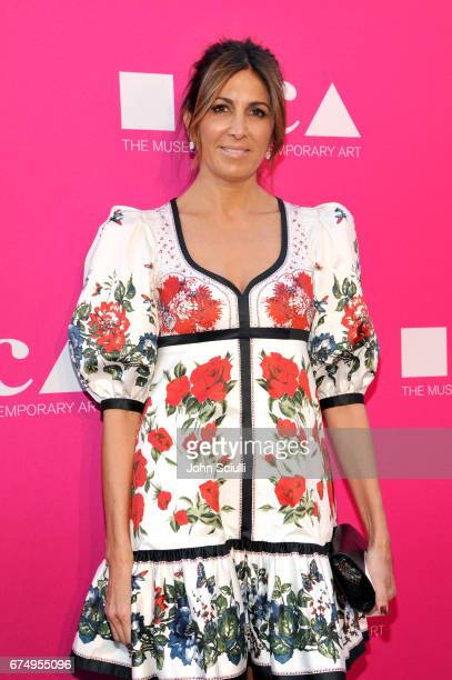 Producer Nathalie Marciano at the MOCA Gala 2017 honoring Jeff Koons at The Geffen Contemporary at MOCA on April 29 2017 in Los Angeles California