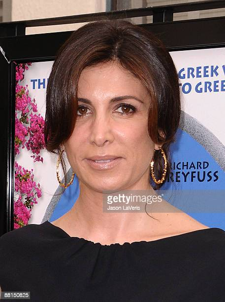 Producer Nathalie Marciano attends a screening of My Life in Ruins at the Zanuck Theater at 20th Century Fox Lot on May 29 2009 in Los Angeles...