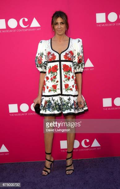 Producer Nathalie Marciano attends the 2017 MOCA Gala at The Geffen Contemporary at MOCA on April 29 2017 in Los Angeles California