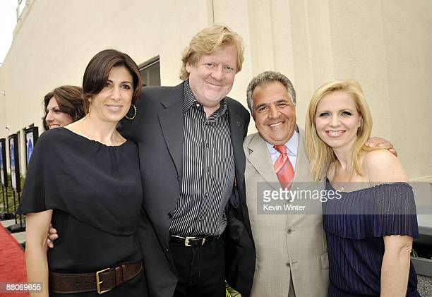 Producer Nathalie Marciano director Donald Petrie Fox's Jim Gianopulos and producer Michelle Chydzik pose at the premiere of Fox Searchlight's My...
