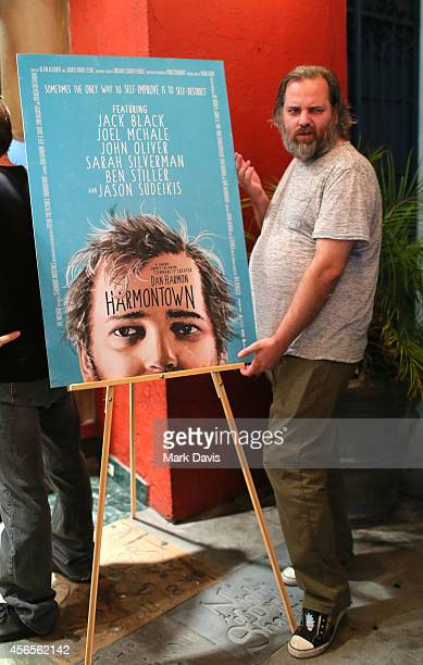 Producer Neil Berkeley poses at the special screening of The Orchard's 'Harmontown held at the Vista Theatre on October 2 2014 in Los Angeles...