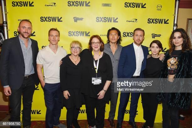 Producer Nicolas Gonda actor Michael Fassbender producer Sarah Green SXSW Film Festival Director Janet Pierson producer Ken Kao actors Ryan Gosling...