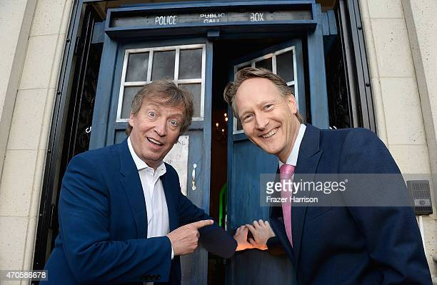 Producer Nigel Lythgoe and British Consul General in Los Angeles Chris O'Connor arrive at the 9th Annual BritWeek launch party at British Consul...