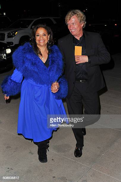 Producer Nigel Lythgoe and Choreographer Debbie Allen attend the US Premiere of Debbie Allen's 'Freeze Frame' at The Wallis Annenberg Center for the...