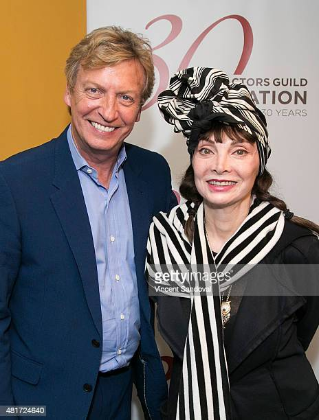 Producer Nigel Lythgoe and singer/choreographer Toni Basil attend The SAG Foundation Presents Dancers Forum IV Summation and Special Guest Panel at...
