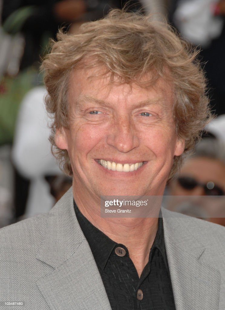Producer Nigel Lythgoe arrives at the Los Angeles Premiere of 'This Is It' held at Nokia Theatre L.A. Live on October 27, 2009 in Los Angeles, California.