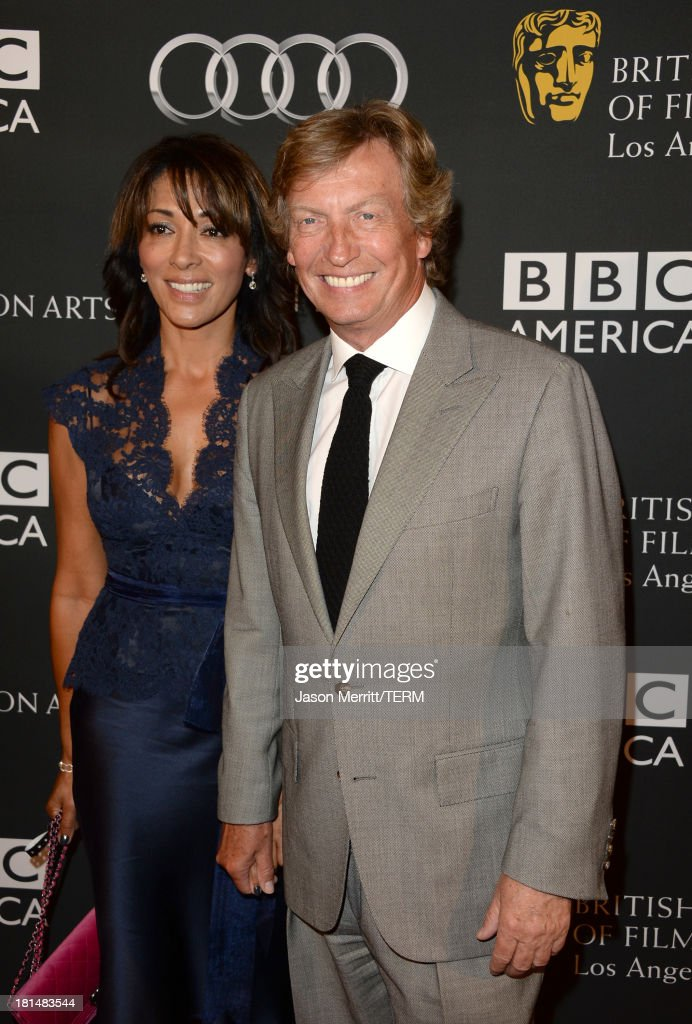 Producer Nigel Lythgoe attend the BAFTA LA TV Tea 2013 presented by BBC America and Audi held at the SLS Hotel on September 21, 2013 in Beverly Hills, California.