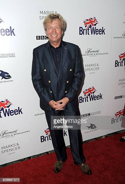 Producer Nigel Lythgoe attends BritWeek's 10th Anniversary VIP Reception Gala at Fairmont Hotel on May 1 2016 in Los Angeles California