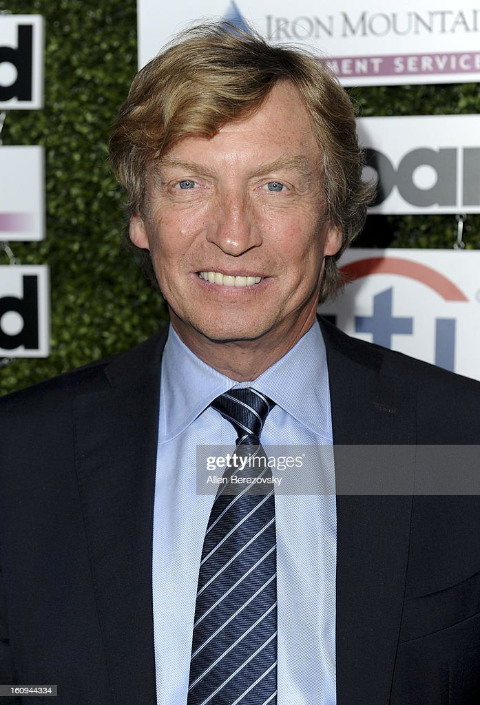 Producer Nigel Lythgoe attends the 1st Annual Billboard Power 100 Event honoring Clive Davis at The Redbury Hotel on February 7, 2013 in Hollywood, California.