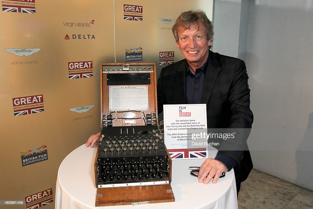 Producer Nigel Lythgoe attends the GREAT British film reception honoring the British nominees of the 87th Annual Academy Awards at The London West Hollywood on February 20, 2015 in West Hollywood, California.