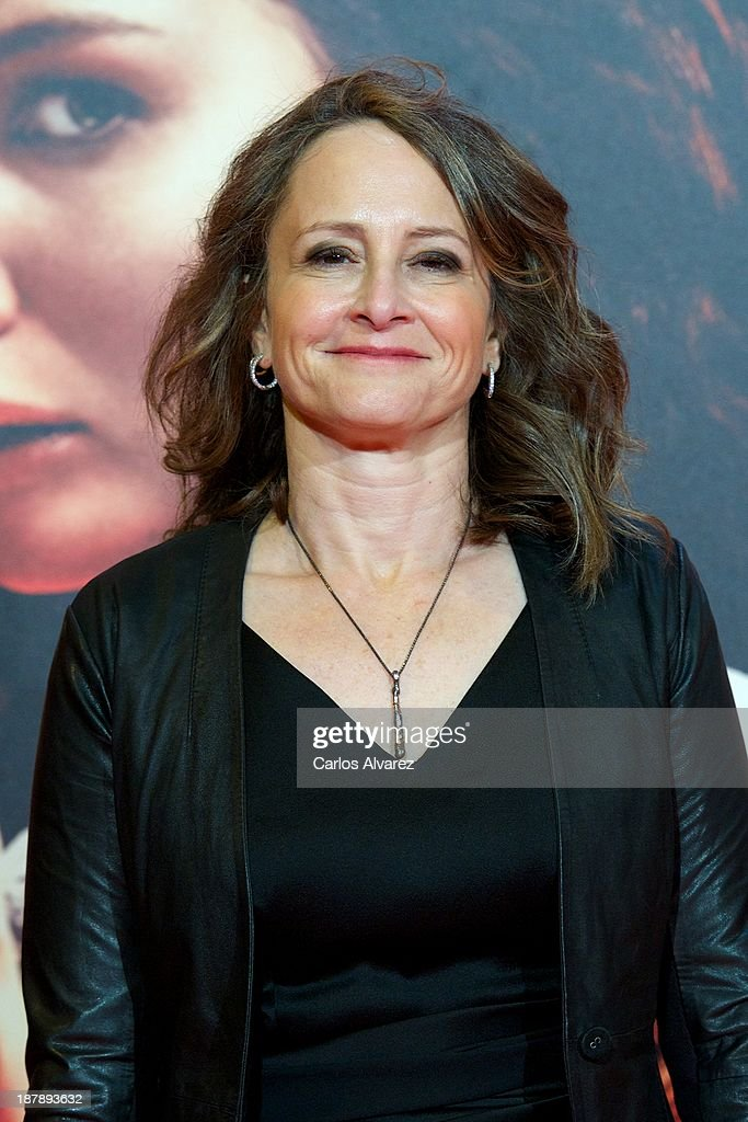 Producer Nina Jacobson attends the Spanish premiere of the film 'The Hunger Games - Catching Fire' (Los Juegos Del Hambre: En Llamas) at the Callao cinema on November 13, 2013 in Madrid, Spain.