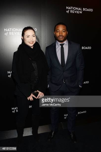 Producer Nina Yang Bongiovi and director Ryan Coogler attend the 2014 National Board Of Review Awards Gala at Cipriani 42nd Street on January 7 2014...