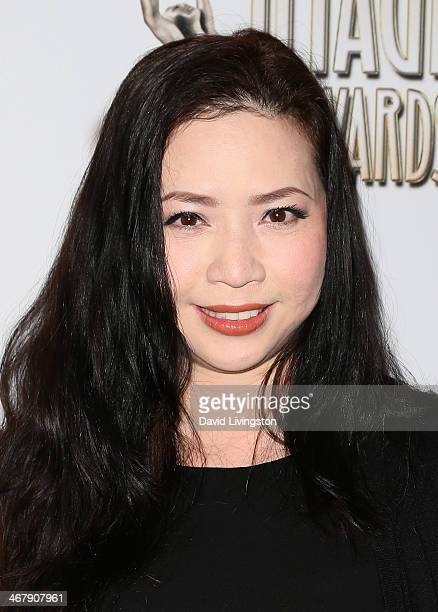 Producer Nina Yang Bongiovi attends the 45th NAACP Image Awards Nominees Luncheon at Lowes Hollywood Hotel on February 8 2014 in Hollywood California