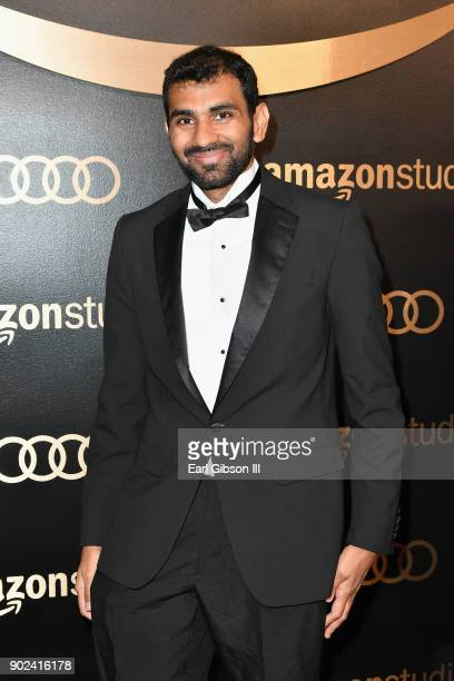 Producer Nitish Kannan attends Amazon Studios' Golden Globes Celebration at The Beverly Hilton Hotel on January 7 2018 in Beverly Hills California
