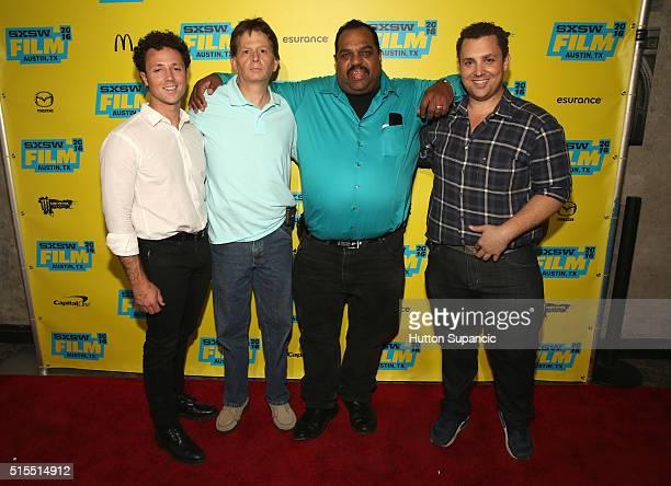 Producer Noah Ornstein actors Scott Shepard Daryl Davis and director Matt Ornstein attend the premiere of Accidental Courtesy Daryl Davis Race...