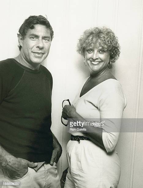 Producer Norman Kean and actress Gwyda Don Howe attend 12th Anniversary Party for Oh Calcutta on August 13 1981 at Norman Kean's home in Montauk New...