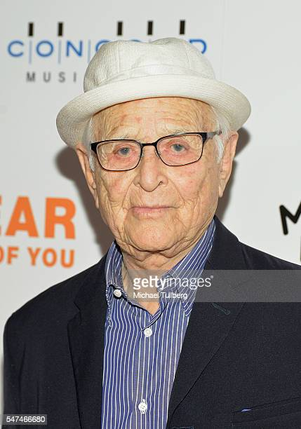 """Producer Norman Lear attends the premiere of Music Box Films' """"Norman Lear: Just Another Version Of You"""" at The WGA Theater on July 14, 2016 in..."""