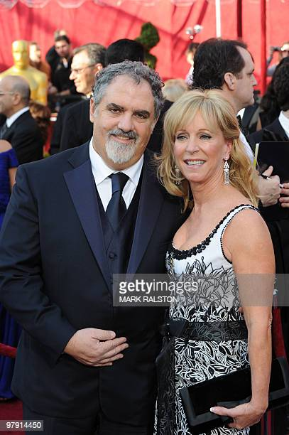 Producer of Avatar John Landau and his wife Julie arrive at the 82nd Academy Awards at the Kodak Theater in Hollywood California on March 07 2010 AFP...