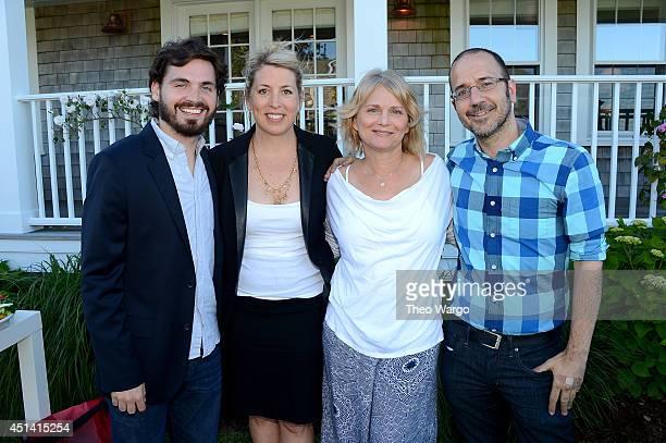 Producer of Nantucket Film Festival Bill Curran executive director of Nantucket Film Festival Mystelle Brabbee filmmaker Cathleen Sutherland and...