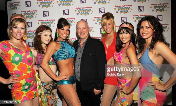Producer of Rockers on Broadway Donnie Kehr and the GoGo Dancers attends Rockers on Broadway Celebrating The 60's at BB King Blues Club Grill on...